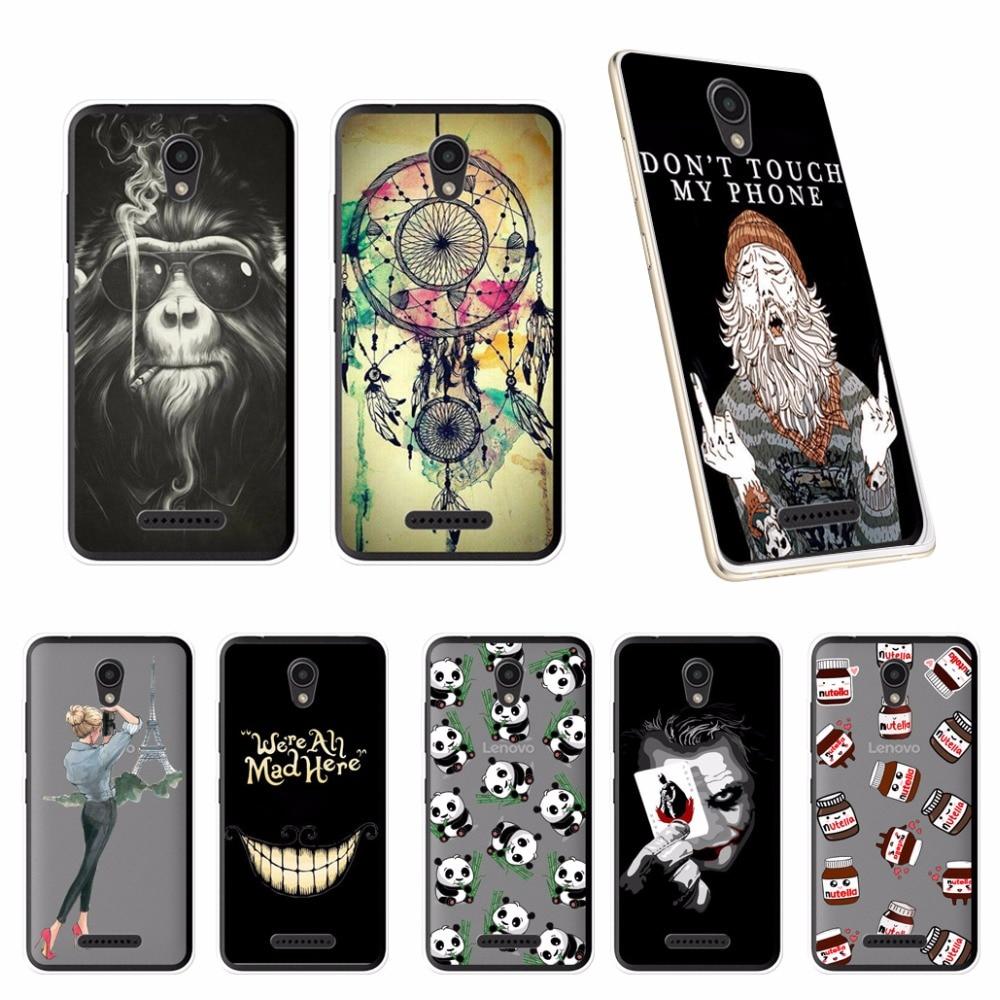 For Lenovo Vibe B A2016a40 Case Silicone Soft TPU Phone A2016A40 A 2016 A40 4.5 Back Cover Skin