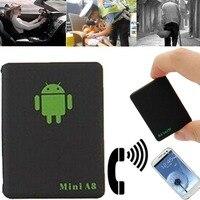 ใหม่!! 1ชิ้นมินิA8 GSM LBSติดตามทั่วโลกTime GSM/GPRS/LBSติดตามอุปกรณ์ที่มีปุ่มSOSสำหรับรถยนต์ผู้สูงอายุ