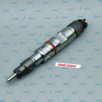 ERIKC Injector 0445120247 Liseron oill pump injector 0445 120 247 Auto Fuel 0 445 120 247 bico Diesel injector 11120106400000