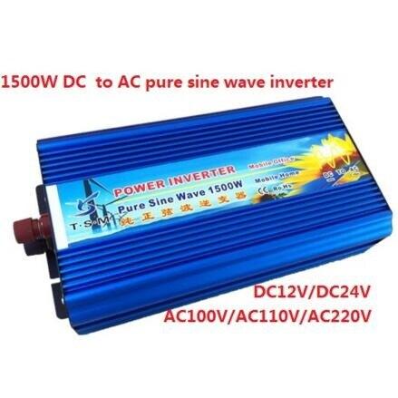 solar power inverter home use DC12V to AC220V 50HZ 1500W pure sine wave inverter dc12v to ac220v pure sine wave power inverter 1500w dc to ac home use power inverter dc to ac car power inverter