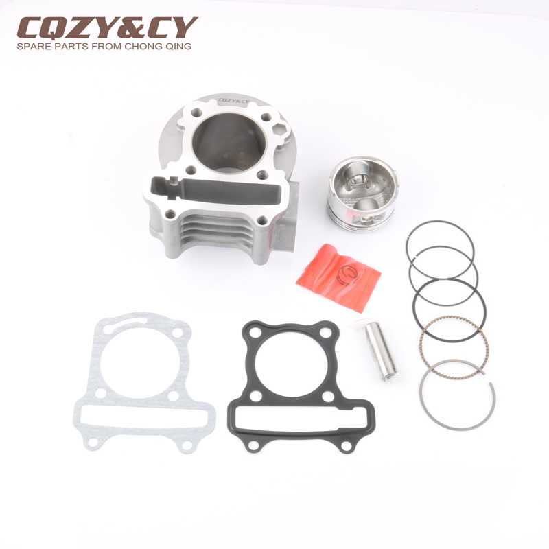 105cc Big Bore Performance Kit & 52mm Piston Kit & Cylinder Gasket for GY6 50cc 139QMB 139QMA 4-stroke Scooter