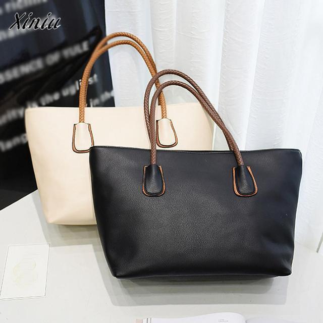 Xiniu Quality Woman Bag Fashion Luxury Brand Bags Female Leather Totes Flap  Clutch Vintage Designer Handbag 392ac9caff