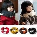 Новая осень и зимой детская шарф Мальчик и девочка пятиконечная звезда теплый воротник