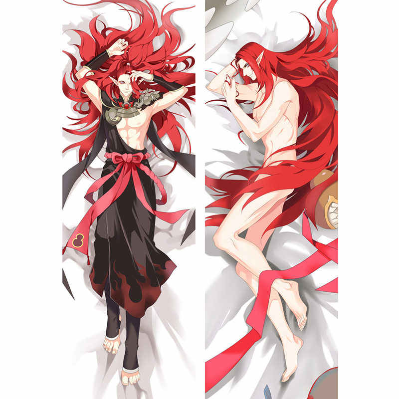 Anime game Onmyoji pillow Covers Dakimakura case Cool boys 3D Double-sided Bedding Hugging Body pillowcase Customize OL02A
