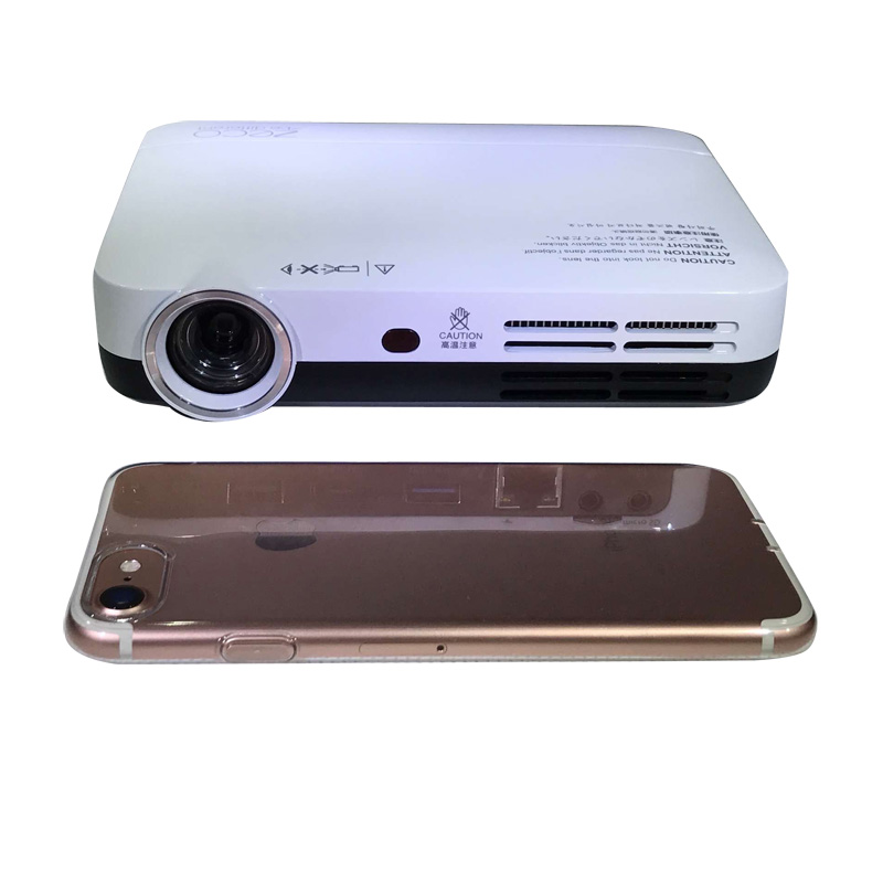 Free Shiping Whole Projector 1280 800 Native Resolution Dlp 2d Convert To Pocket Home Theater 3000 Lumens In Projectors From Computer