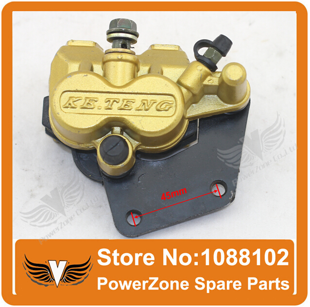 ФОТО Disc Brake Caliper Rear Disc Brake Fit To 50cc 70cc 90cc 110cc 125cc  Dirt Pit Bike Rront Brake System Free Shipping