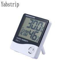 Yabstrip монитор влажности с комнатным термометром цифровой гигрометр и индикатор влажности для светодиодных растений светильник для выращивания