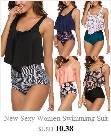 HTB1zHpkbvvsK1RjSspdq6AZepXaa Push up Bikini Set Women Halter Ruffle Biquini Swimwear Low Waist Sexy Swimsuit Women Beach Bathing Beachwear Bandage Bikini Set