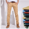 2015 business men's casual trousers Korean Slim four seasons can wear pants plus fertilizer to increase the fat brother