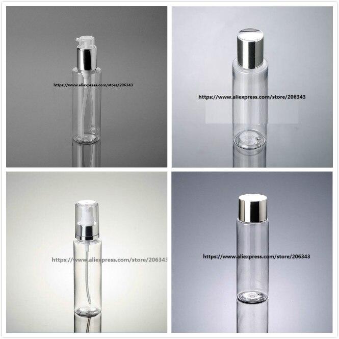 ✓120 ml botella plástica transparente del animal doméstico con la ...