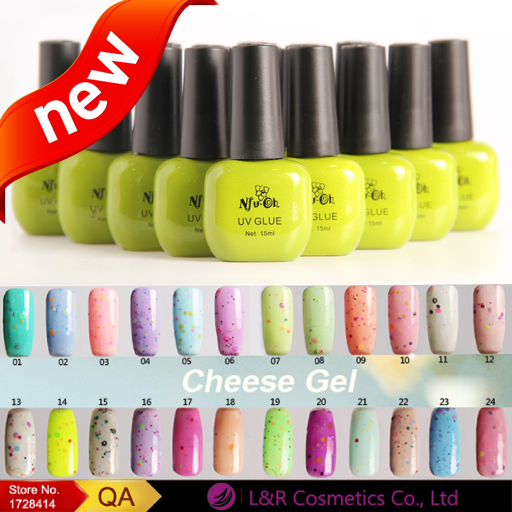 NFU OH Delicious Ice Cream Color Cheese Gel Polish Non toxic ...