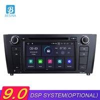 Besina 1 Din Android 9,0 автомобильный dvd плеер для BMW 1 серии E81/E82/E88 2004 2011 gps навигация Мультимедиа вайфай Автомагнитола