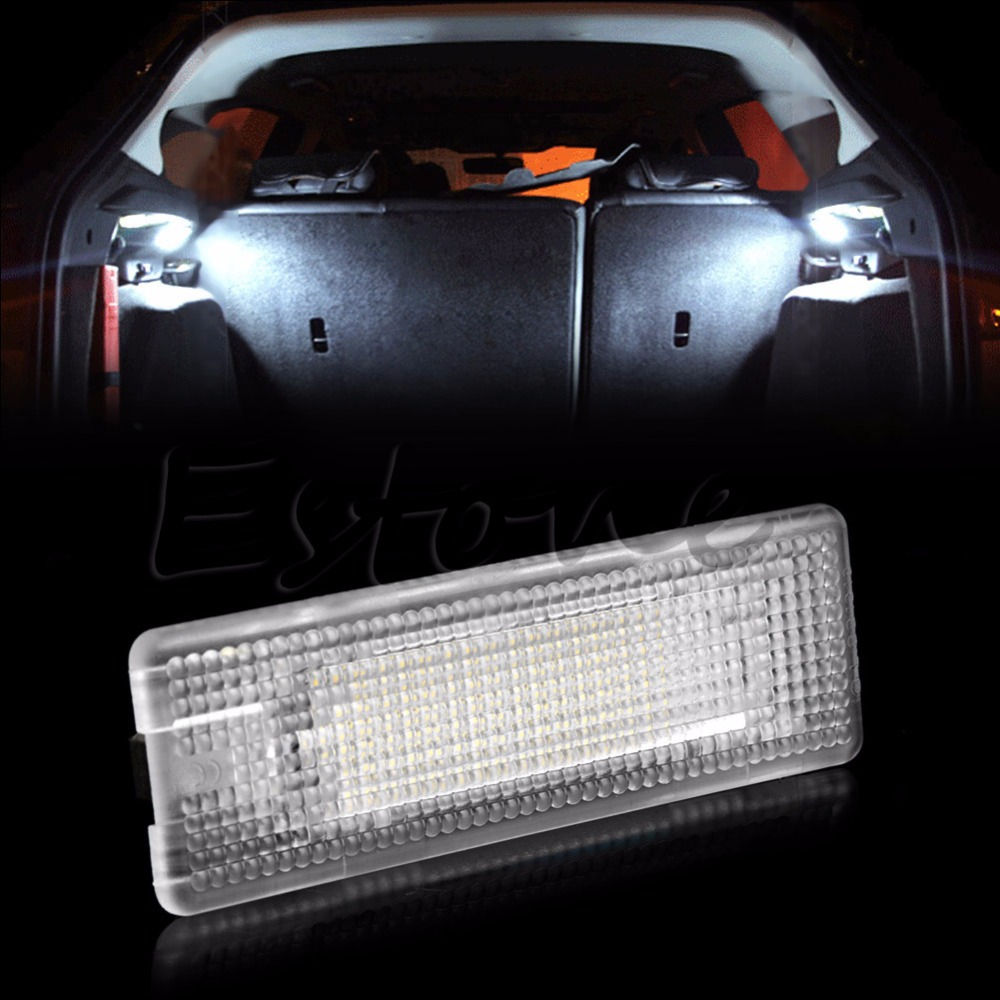 1PC 18 SMD LED Lamp Car Trunk Luggage Compartment White Light For VW Golf 4/5/6 Polo for volkswagen passat b6 b7 b8 led interior boot trunk luggage compartment light bulb