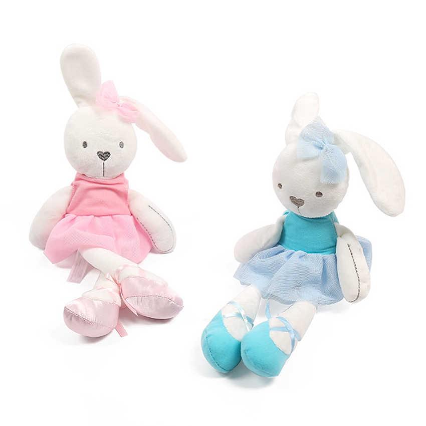 42cm 7 tarzı bebek oyuncakları tavşan uyku konfor bebek peluş oyuncaklar Millie Boris pürüzsüz itaatkar tavşan uyku sakin bebek doğum günü hediyeleri