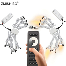 ZMISHIBO Four Control Memory Remote 12V Mini Spot Led Downlight Can Be Set Dimming Driver 6/12 Lamps Dimmable Single Controller