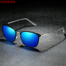 NIKSIHDA 2019 European and American fashion Polarized Sunglasses men and women anti-ultraviolet Sunglasses driving Sunglasses niksihda 2019 european and american pop polarized sunglasses fashion sunglasses anti ultraviolet sunglasses uv400