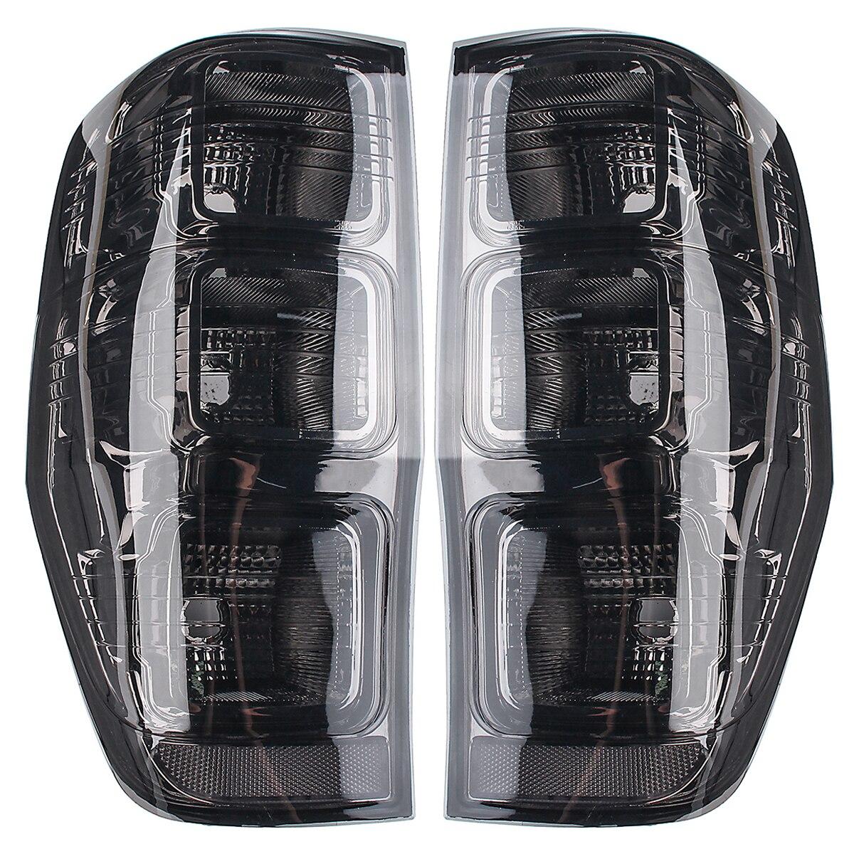 2 pièces qualité supérieure De Voiture Arrière Gauche Droite Fumé feux arrières Feux Arrière Lampe pour Ford Ranger PX T6 MK1 MK2 WildTrak XLT XL XLS