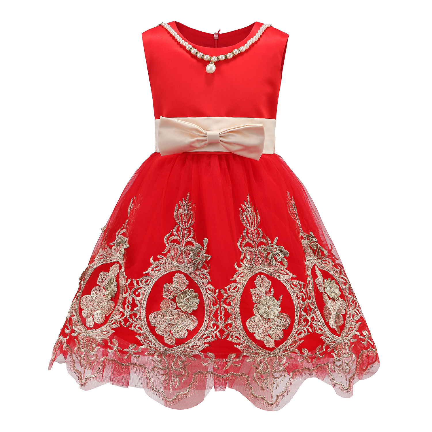 Children Girls Dress 2017 New Cupcake Pageant Dresses Girl Party