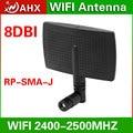 2.4 g 8 dbi antena de panel direccional router inalámbrico publicidad el mando a distancia alta ganancia de antena SMA