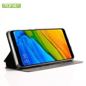 Image 5 - For Xiaomi Redmi Note 5 Pro case For Xiaomi Redmi Note 5 Pro case cover silicone flip leather Mofi For Xiaomi Redmi Note 5 case