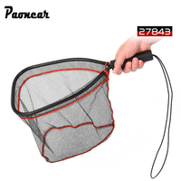 Landing Net Catch And Release Nets Scoop Brail Nylon Mesh Netting For Fly Trout Kayak And