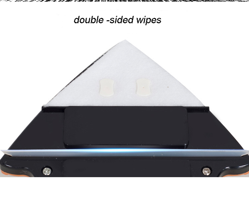 Double Side Magnetic Window Wiper Glass Cleaning Brush Tool For Home And Office 9