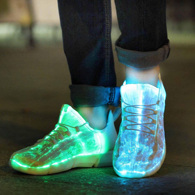 led up shoes