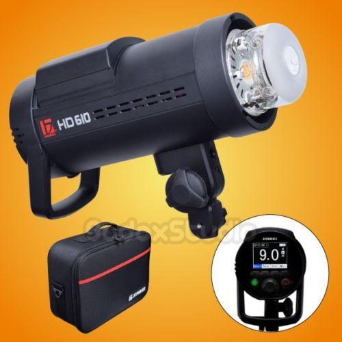 Jinbei HD-610 600 W TTL HSS Li-Ion Esterna Strobe Flash per Canon NikonJinbei HD-610 600 W TTL HSS Li-Ion Esterna Strobe Flash per Canon Nikon