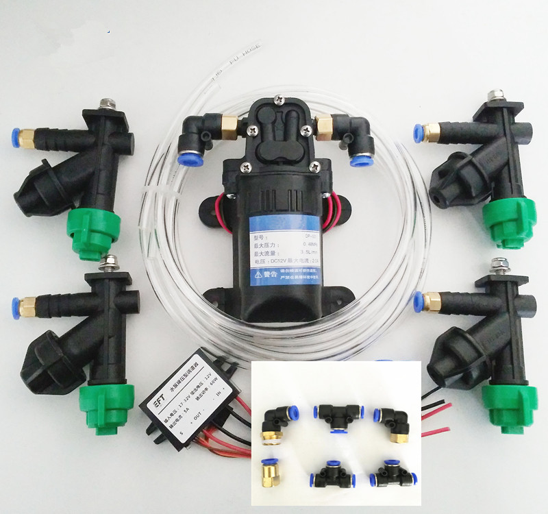 Agricultural drone spray system accs nozzle for Water pipes for 5L/10L/15L/20L Water pump Buck module Pump governor  Adapter 3 inch gasoline water pump wp30 landscaped garden section 168f gx160 agricultural pumps
