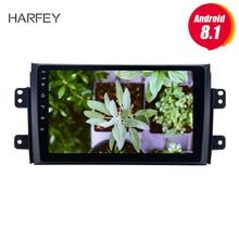 Harfey Android 8,1 HD сенсорный экран для 2006-2012 Suzuki SX4 с радио OBD2 3g WI-FI Bluetooth Автомобильный мультимедийный плеер AUX МЖК