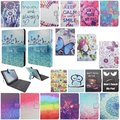 "New 3D Cute Flip Magnetic Fashion PU Leather Micro USB Keyboard Case Stand Cover for Universal  9"" 10"" Android Tablet PC"