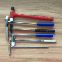 Free shipping Jewelry Tool Mini Hammer Double Steel Plastic Handle Multi-purpose Tools for Watch Jewellery Repairing