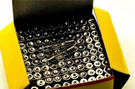 100 PCS Fusível 5x20mm 2A 250 V Fusível De Vidro de 5mm * 20 MM