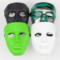 Бесплатная доставка 100 шт. Jabbawockeez Рождество Маски для век маскарад маски карнавальные Маски для век