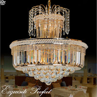 European Style Luxury Living Room Bedroom Lamp LED Stairway French Restaurant Lights Led Lights Chandeliers Lmy