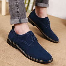 Mens Dress Shoes 2019 New Oxford Cow Suede Casual Fashion Classic Brand Design Wedding