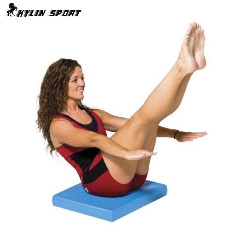 Ücretsiz kargo kararlı spor mat otantik yumuşak pedal denge trainer yoga mat spor rehabilitasyon ekipmanları