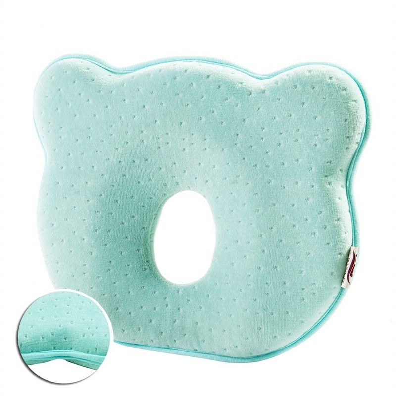 YOOAP Pillow For Newborns In Memory Foam To Avoid Flat Head Or Plagiocephaly Syndrome Baby Stuff Baby Things