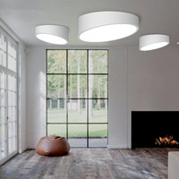 Lâmpada de teto moderna led  para iluminação interna  plafon  luminária de teto com cilindro para sala de estar  quarto