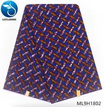 LIULANZHI african wax prints fabric 100% cotton 2019 latest ankara fabrics real ML9H1801-19