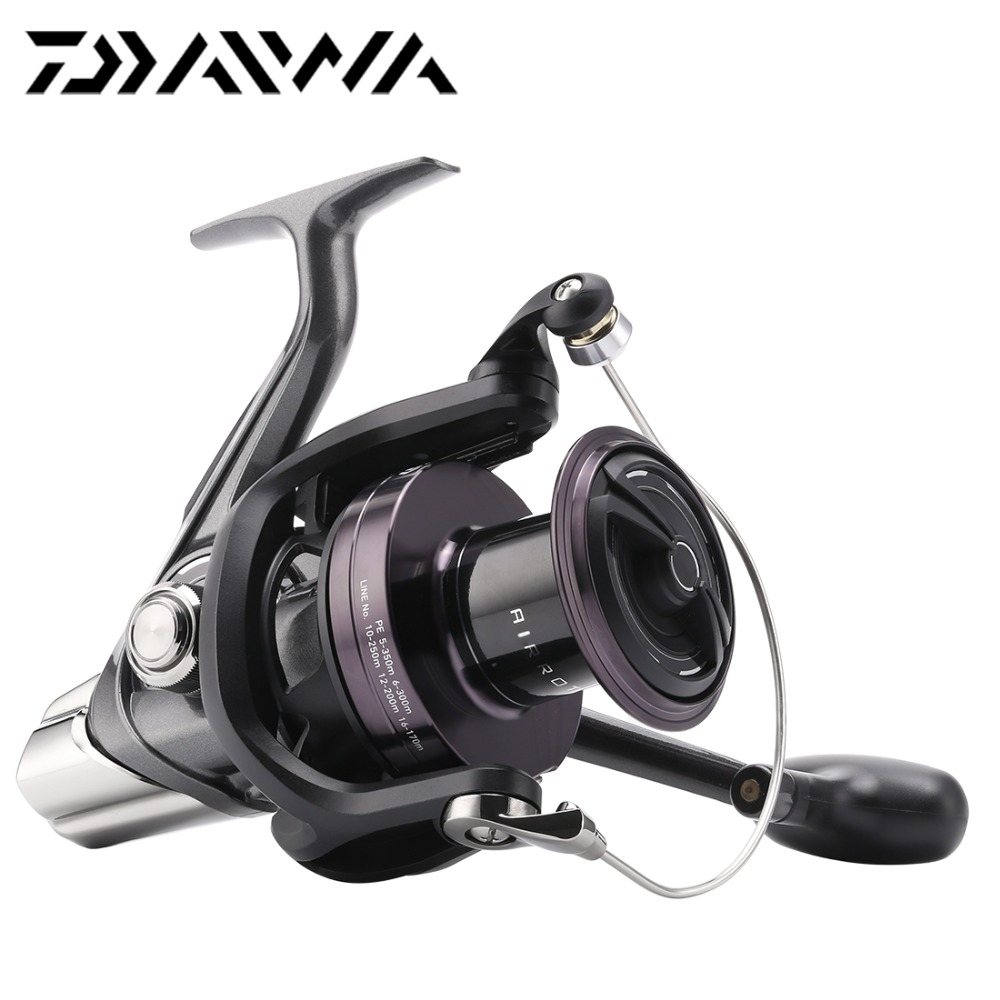 € 183 21 |Origine DAIWA CROSSCAST 5000/5500/6000 Spinning Reel Fishing 3 +  1BB 4 1: 1 Air rotor Longue fonte Reel Saltwater Carpe De Pêche Roue dans
