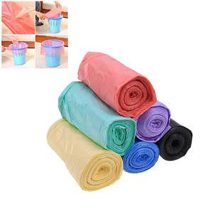 Garbage-Bags Cleaning-Waste-Bag Plastic Small Thick 1-Rolls Environmental Convenient