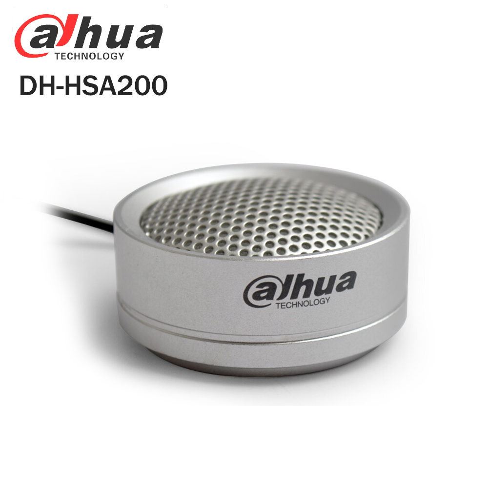 Dahua Audio Pickup DH-HSA200 Hi-fidelity Audio Picker Microphone for Dahua HIKVISION Audio and Alarm Camera HSA200