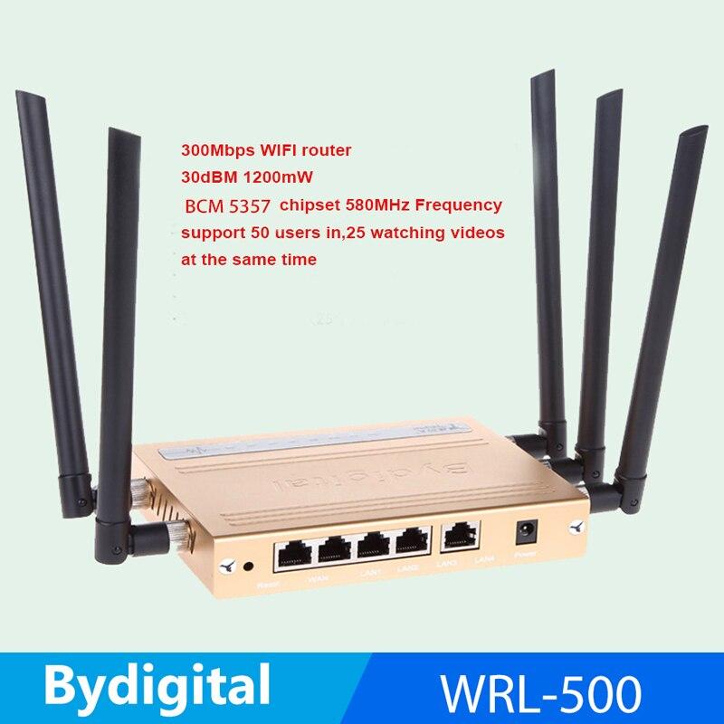 300Mbps high speed 64M Memory 30Dbi high gain antenna 1200mw high power 802.11N / B / G USB WIFI roteador 3g 4g Wireless Router edup ep rt2625 high gain 300mbps wireless router