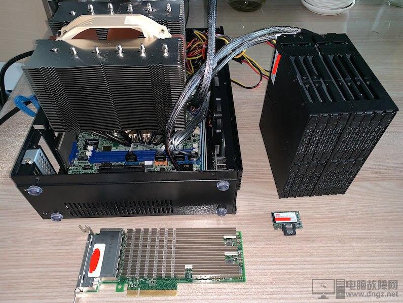 打造萬兆全固態靜音NAS網絡服務器1