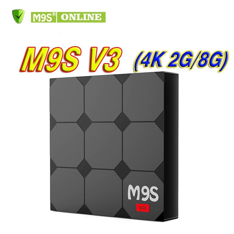 M9S V3 Android 6.0 TV Box Cheapest RK3229 Quad-Core 2GB 8GB Smart TV Box WiFi 3D HDMI TV Cheap Set-top Box KD17.3 Media Player lkv223 new 2d to 3d hdmi video converter box for tv movie blue ray dvd set top box 2d 3d viewhd 1080p amber blue 3d sbs 3d