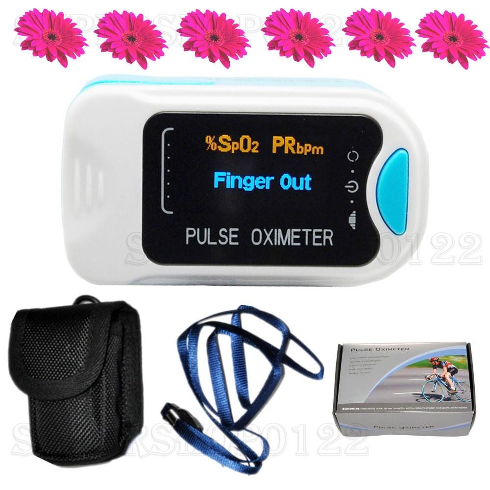 oxymetre de pouls OLED Finger Tips, Moniteur d'oxygene du sang, SPO2, PR, HR, CMS50NA