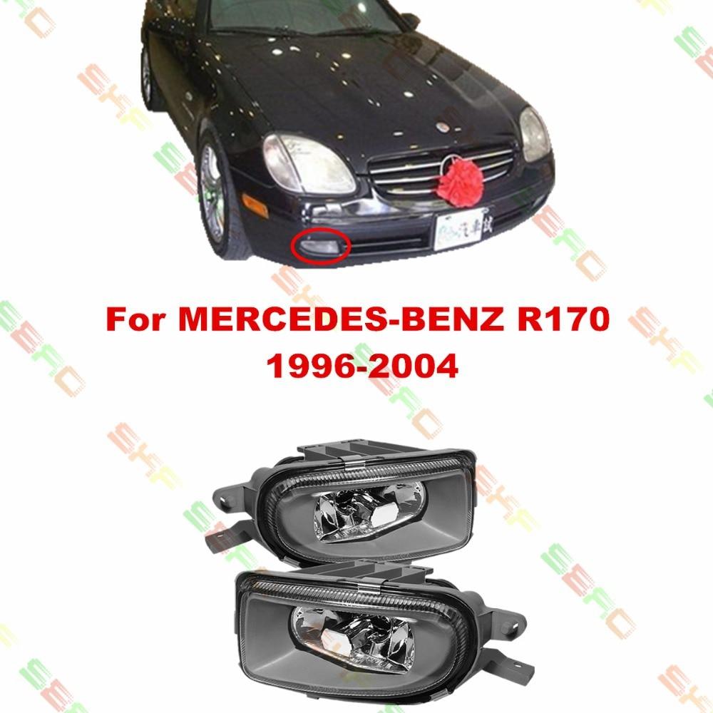 Для MERCEDES-BENZ автомобиль 170 рандов ЮАР 1996-2004 стайлинг противотуманные фары противотуманные фары 1 комплект стекло