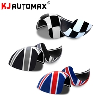 2pcs Car Styling For MINI COOPER MK1 R50 R52 R53 Side Mirror Cover Cap (2001 06) Accessories (not a mirror base)