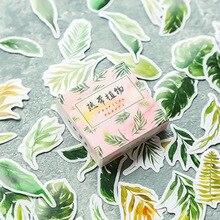 Тропические растения пуля журнал декоративные наклейки из бумаги васи Скрапбукинг палочка этикетка канцелярские наклейки для дневника, альбома